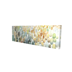 Canvas 16 x 48 - 3D - Cluster of circles