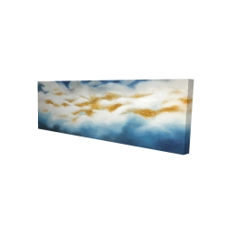 Canvas 16 x 48 - 3D - Abstract clouds