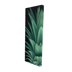 Canvas 20 x 60 - 3D - Pineapple leaves