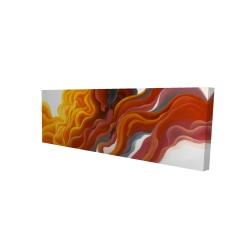 Canvas 16 x 48 - 3D - Colorful smoke