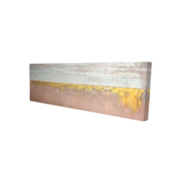 Canvas 16 x 48 - 3D - Golden pink