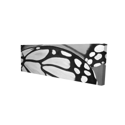 Canvas 16 x 48 - 3D - Butterfly wings closeup