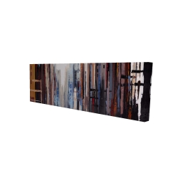 Canvas 16 x 48 - 3D - Abstract buildings