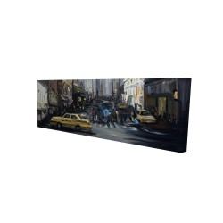 Canvas 16 x 48 - 3D - In the city
