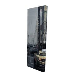 Canvas 16 x 48 - 3D - New york in the dark