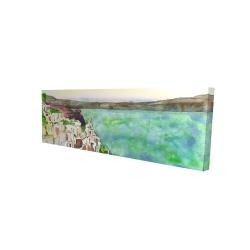 Canvas 16 x 48 - 3D - Landscape of crete
