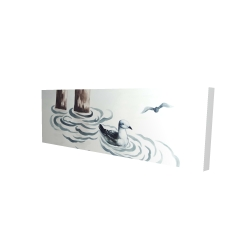 Canvas 16 x 48 - 3D - Seagull