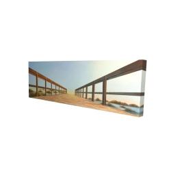 Canvas 16 x 48 - 3D - Footbridge