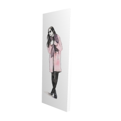 Canvas 16 x 48 - 3D - Woman spring look