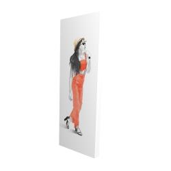 Canvas 16 x 48 - 3D - Strike the pose