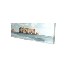 Canvas 16 x 48 - 3D - Rocher percé