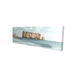 Canvas 16 x 48 - 3D - Rocher percé
