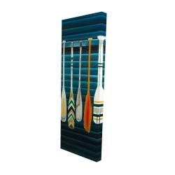 Canvas 16 x 48 - 3D - Paddles