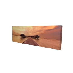 Canvas 16 x 48 - 3D - Sea villas