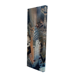 Canvas 16 x 48 - 3D - Chrysler building at nyc