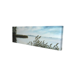 Canvas 16 x 48 - 3D - Quiet lake