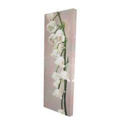 Canvas 16 x 48 - 3D - Lily of the valley flowers