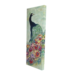 Canvas 16 x 48 - 3D - Proud as a peacock