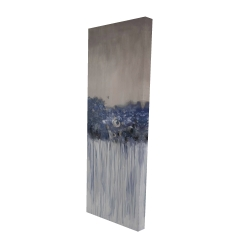 Canvas 16 x 48 - 3D - Bouquet of blue flowers