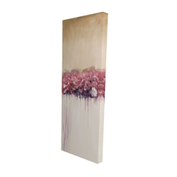 Canvas 16 x 48 - 3D - Vintage flower cluster