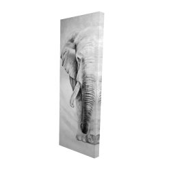 Canvas 16 x 48 - 3D - Great elephant