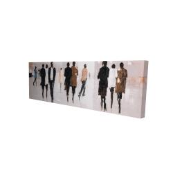 Canvas 16 x 48 - 3D - Avenue