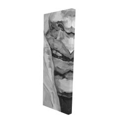 Canvas 16 x 48 - 3D - Luscious lips