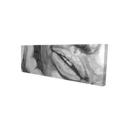 Canvas 16 x 48 - 3D - Irresistible lips