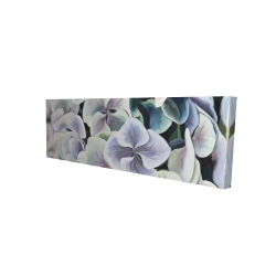 Canvas 16 x 48 - 3D - Colorful hydrangea flowers