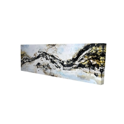 Canvas 16 x 48 - 3D - Abstract and texturized paint splash
