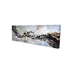 Canvas 16 x 48 - 3D - Texturized abstract wave