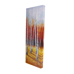 Canvas 16 x 48 - 3D - Fall forest landscape