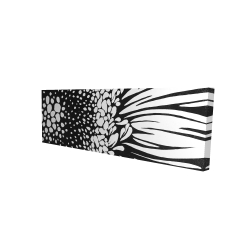 Canvas 16 x 48 - 3D - Gerbera flower