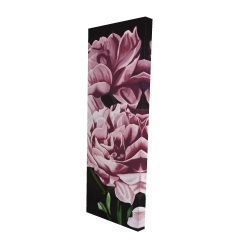Canvas 16 x 48 - 3D - Pink peonies