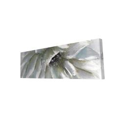Canvas 16 x 48 - 3D - White chrysanthemum