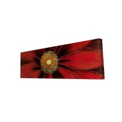 Canvas 16 x 48 - 3D - Red daisy