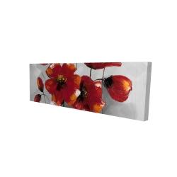 Canvas 16 x 48 - 3D - Anemone flowers
