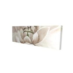 Canvas 16 x 48 - 3D - Delicate chrysanthemum