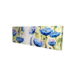 Canvas 16 x 48 - 3D - Blue garden