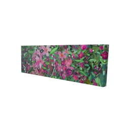 Canvas 16 x 48 - 3D - Cherry tree blooming