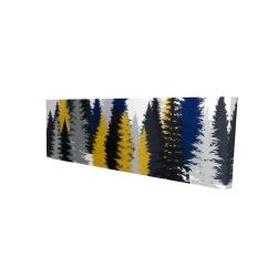 Canvas 16 x 48 - 3D - Golden fir