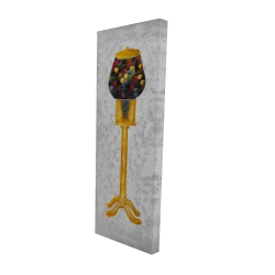 Canvas 16 x 48 - 3D - Yellow gum dispenser