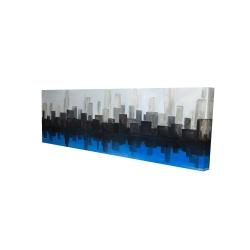 Canvas 16 x 48 - 3D - Blue city