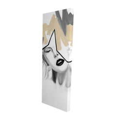 Canvas 16 x 48 - 3D - Divided woman