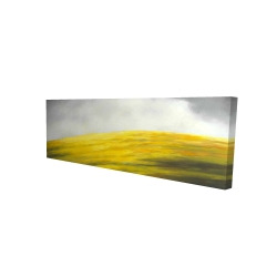Canvas 16 x 48 - 3D - Yellow hill