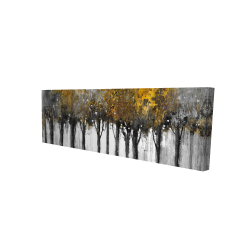 Canvas 16 x 48 - 3D - Illuminated forest