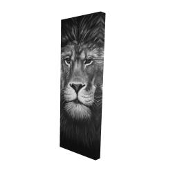 Canvas 16 x 48 - 3D - Lion portrait
