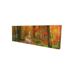 Canvas 16 x 48 - 3D - Autumn trail