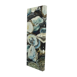 Canvas 16 x 48 - 3D - Oyster shells