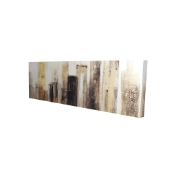Canvas 16 x 48 - 3D - Earthy tones city